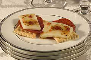 Marinated Cheese for Crackers Image 1