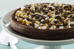 Chocolate-Caramel Marshmallow Torte
