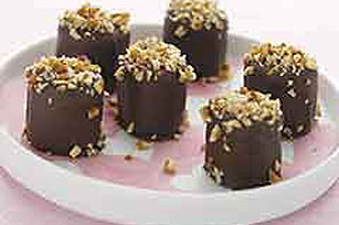 Chocolate Covered Marshmallow Truffles Image 1