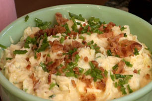 Paula Deen's Creamy Fried Bacon Pototoes Image 1