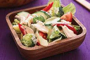 Ensalada multicolor con pollo Image 1
