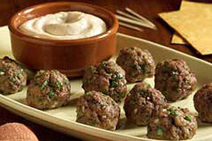 Meatballs with Chipotle Dipping Sauce Image 1
