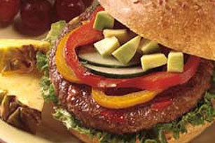 Meatless California Burger Image 1