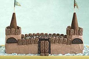 Pastel castillo medieval