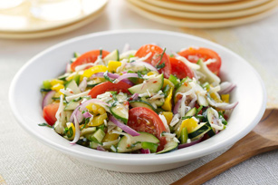 Mediterranean Marinated Vegetable Salad Image 1