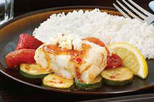 Mediterranean Baked Fish Image 1