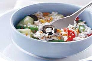 Mediterranean Rice Salad Image 1
