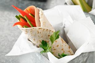 Mediterranean Wrap Sandwich Image 1