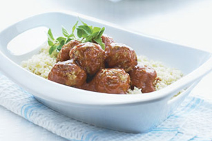 Mediterranean Meatballs with Couscous Image 1
