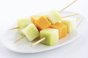 Mini-brochettes de melon Image 1