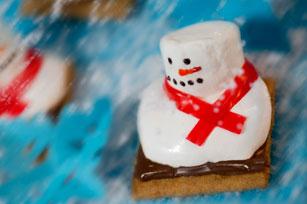 Melting Snowmen S'mores Image 1