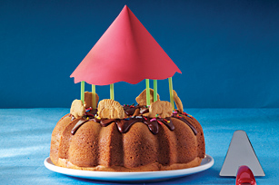 Carousel Cake Image 1