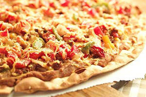 Mexican Black Bean Pizza Image 1