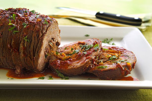 Mexican Stuffed Flank Steak Image 1