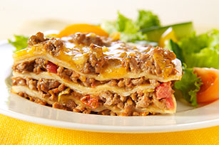 Cheesy Mexican-Style Lasagna
