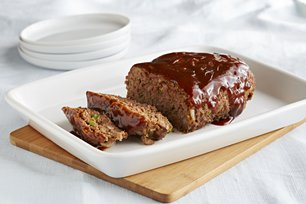 Microwave Barbecue Meatloaf