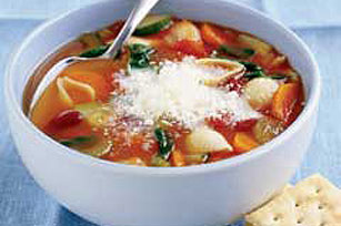 Hearty Minestrone Soup Image 1