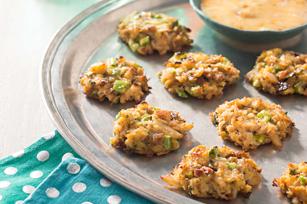 Mini-croquettes de crabe