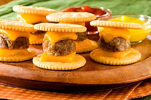 Mini Cheeseburgers Recipe - Kraft Recipes