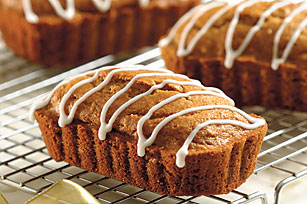 Mini Gingerbread Loaves