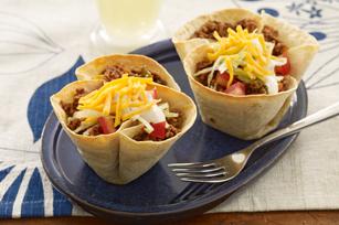 Mini Taco Bowls Image 1