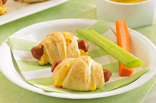 Mini Cheese Dog Wraps Image 1