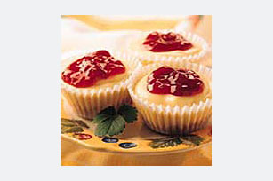Mini Fruit-Topped Cheesecakes Image 1