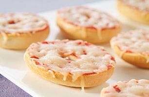 Mini Pizza Bagels