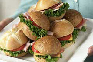 Mini sándwiches para una multitud