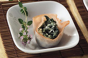Mini Spinach & Cheese Cups Image 1