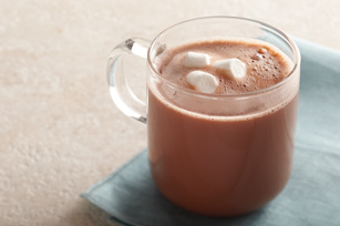Minty Marshmallow Hot Chocolate