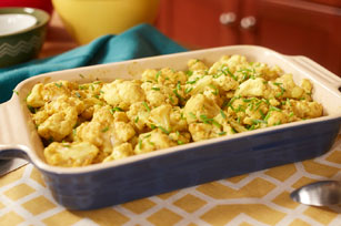 MIRACLE WHIP Curry-Roasted Cauliflower