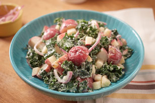 MIRACLE WHIP, Kale & Apple Potato Salad