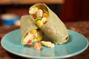 MIRACLE WHIP Mango-Chicken Salad Wraps Image 1