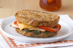 Tomato-Chicken Grilled Cheese Image 1
