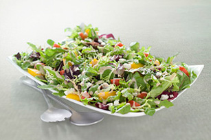 Mixed Greens with Creamy Poppyseed Dressing Image 1