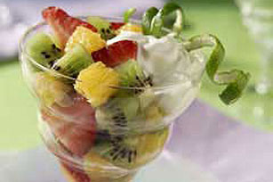 Mixed Fruit with Lime Sauce Image 1