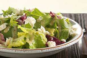 Mixed Greens with Mediterranean Vinaigrette