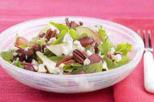 Mixed Greens with Pear & Pecan Salad