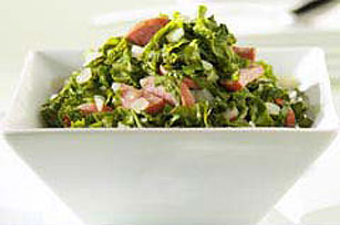 Mixed Greens with Turkey Sausage
