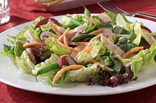 Mixed Salad with Raspberry Honey Dijon Dressing Image 1