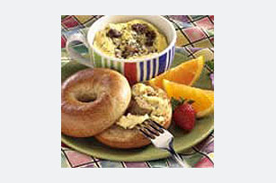 Morning Bagel Sandwich Image 1