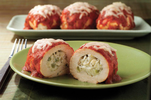 Mozzarella-Stuffed Chicken Breasts Image 1