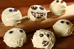 Mummy Cookie Balls