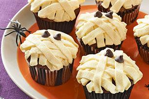 Petits gâteaux déguisés en momies