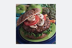 Mushroom Turkey Burgers