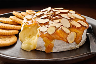 Mustard-Almond Baked Brie Recipe