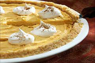 Crumb Crust Pumpkin Pie