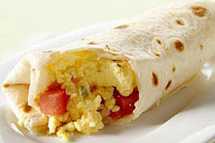 Egg and Tomato Burrito Image 1