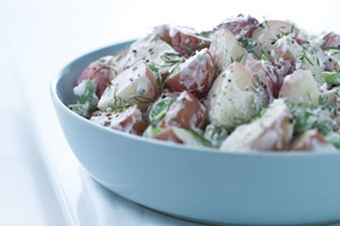 New Potatoes in Dill Cream Sauce Image 1